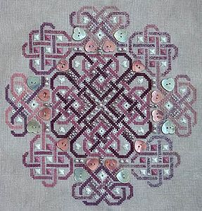 Northern Expressions Needlework - Celtic Valentine MAIN