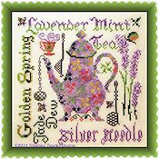 Tempting Tangles Designs - Lavender Mint