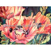 Heaven and Earth Designs - Silk Poppies THUMBNAIL