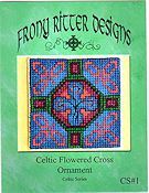 Frony Ritter Designs - Celtic Flowered Cross THUMBNAIL