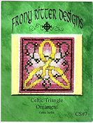 Frony Ritter Designs - Celtic Triangle Ornament