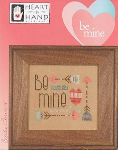 Heart In Hand Needleart - Be Mine MAIN