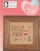 Heart In Hand Needleart - Be Mine THUMBNAIL