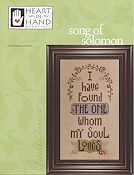Heart In Hand Needleart - Song of Solomon