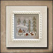 Country Cottage Needleworks - Frosty Forest #4 - Snowy Friends THUMBNAIL