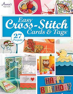 Annie's Cross Stitch - Easy Cross-Stitch Cards & Tags MAIN