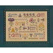 Elizabeth's Designs - Antique Bee Sampler
