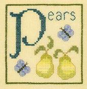 Elizabeth's Designs - P is for Pears