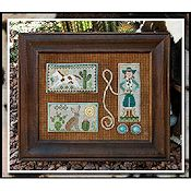 Little House Needleworks - Tumbleweeds 2 - Cowgirl Country