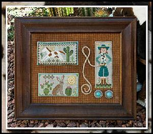 Little House Needleworks - Tumbleweeds 2 - Cowgirl Country MAIN