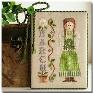 Little House Needleworks - Calendar Girls #3 - March MAIN