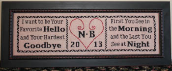 Needle Bling Designs - Favorite Hello