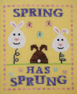 Needle Bling Designs - Spring Rabbits