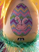 Amy Bruecken Designs - Little Guys - Little Bunny Egg