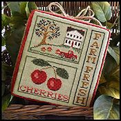 Little House Needleworks - Farm Fresh Cherries
