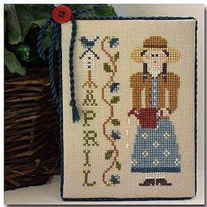 Little House Needleworks - Calendar Girls #4 - April MAIN
