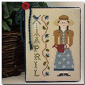 Little House Needleworks - Calendar Girls #4 - April_THUMBNAIL