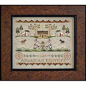 Little House Needleworks - Tumbleweeds 3 - American Frontier