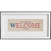 Cherry Lane Designs - Starburst Patriotic Welcome THUMBNAIL