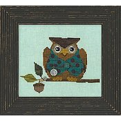 Just Another Button Company - Woodland Whimsy Series #1 Woodland Owl