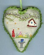 Faithwurks Designs - Summer Garden Heart
