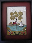 By The Bay Needleart - Nantucket Village Series #4 THUMBNAIL
