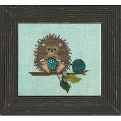 Just Another Button Company - Woodland Whimsy Series #2 Woodland Hedgehog THUMBNAIL