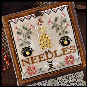 Little House Needleworks - Needle Lady Pocket MAIN