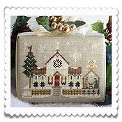 Little House Needleworks - Hometown Holiday Series - #6 Town Church