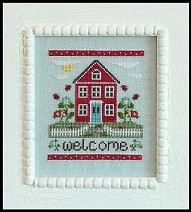 Country Cottage Needleworks - Welcome Home MAIN