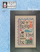 Heart In Hand Needleart - Be You THUMBNAIL