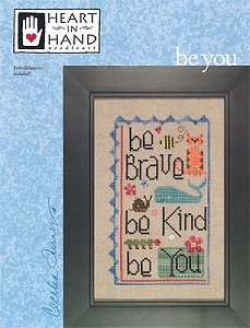 Heart In Hand Needleart - Be You MAIN