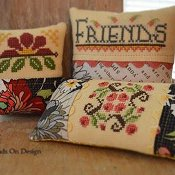 Hands On Design - Gather Friends Close - A Cushion Series Part 2 - Friends THUMBNAIL