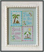 Country Cottage Needleworks - Fun In The Sun THUMBNAIL
