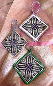 Frony Ritter Designs - Four Sided Knot Ornament THUMBNAIL