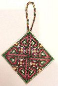 Frony Ritter Designs - Missal of Leofric Cross Ornament