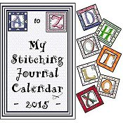 X's & Oh's - A to Z My Stitching Journal Calendar 2015