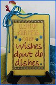 Designs By Lisa - Wishes Don't Do Dishes