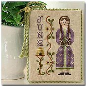 Little House Needleworks - Calendar Girls #6 - June THUMBNAIL