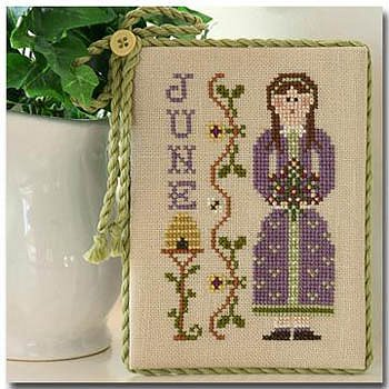 Little House Needleworks - Calendar Girls #6 - June MAIN