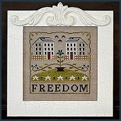Little House Needleworks - Freedom House THUMBNAIL