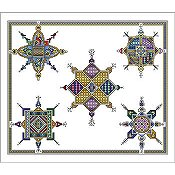 Vickery Collection - Celtic Snowflakes