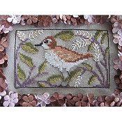 By The Bay Needleart - Birds Of A Funky Feather #12 THUMBNAIL