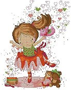 Lena Lawson Needlearts - Little Dancer THUMBNAIL