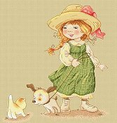 Lena Lawson Needlearts - Sarah's Eventful Dog Walk