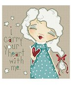 Lena Lawson Needlearts - I Carry Your Heart