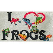 X's & Oh's - I Heart Frogs