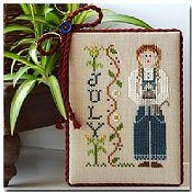 Little House Needleworks - Calendar Girls #7 - July THUMBNAIL