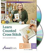 Annie's Cross Stitch - Learn Counted Cross Stitch CD THUMBNAIL
