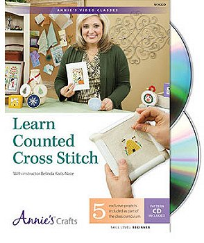 Annie's Cross Stitch - Learn Counted Cross Stitch CD MAIN